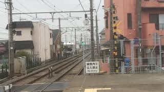 山陽5000系5012F直通特急阪神大阪梅田行き 中八木駅通過