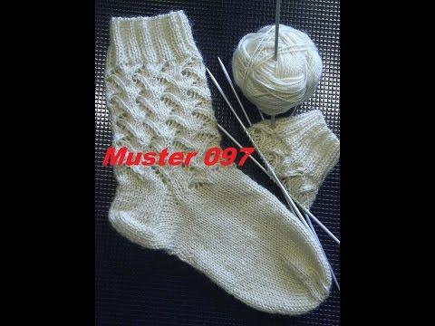 Muster 097* Stricken mit Nadelspiel*Stricken lernen*Muster für Kinder Socken*Mütze*Tutorial