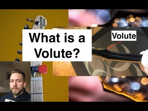 What is a Volute on a Guitar Neck?