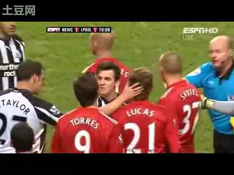 Joey Barton Fight Fernando Torres