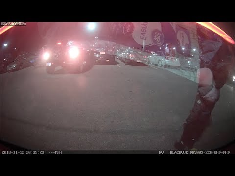 Jeep Wrangler Hit And Run Walmart Parking Lot 11-12-2018 [Blackvue DR900S-2CH]