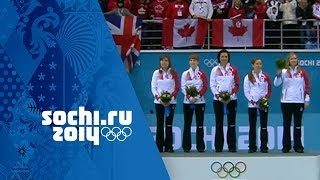 Curling - Women's Gold Medal Game - Canada v Sweden | Sochi 2014 Winter Olympics