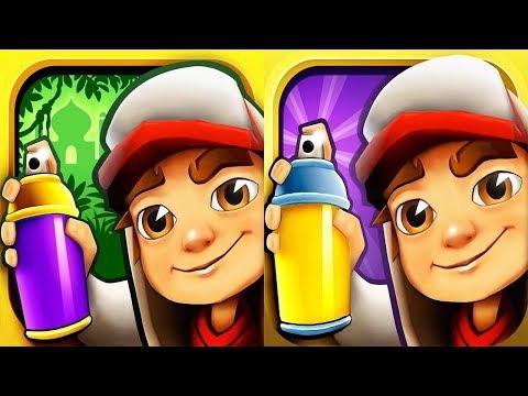 Subway Surfers Peru VS Singapore iPad Gameplay for Children HD #367