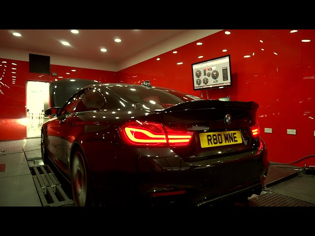 BMW M4 Tuning @ MSL Perfoamnce UK