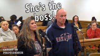 She's the boss!