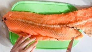 Суп из хребта красной рыбы. Уха. Бюджетный рецепт ухи из красной рыбы!