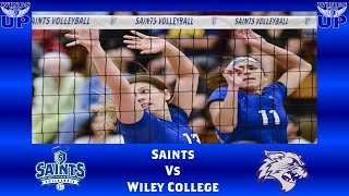 OLLU Saints Volleyball vs. Wiley College