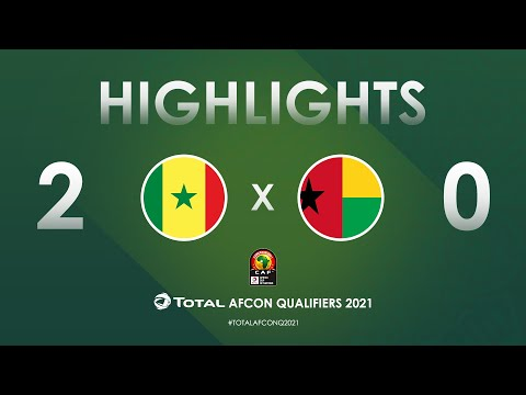 HIGHLIGHTS | Total AFCON Qualifiers 2021 | Round 3 - Group I: Senegal 2-0 Guinea-Bissau