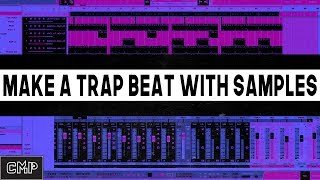?  How to Make a Trap Beat With Samples | how to use studio one