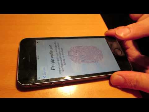 hacking iphone 5S touchID