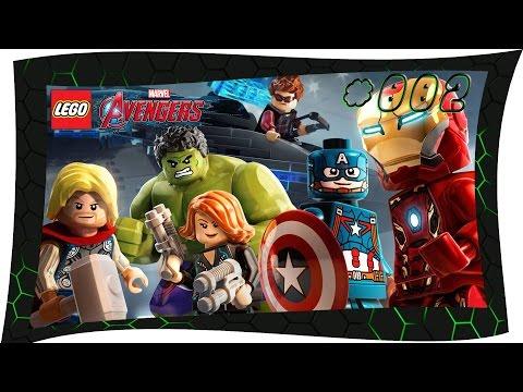 Let's Play LEGO Marvel Avengers Deutsch #2 schluss mit strucker - LEGO Marvel Avengers Gameplay