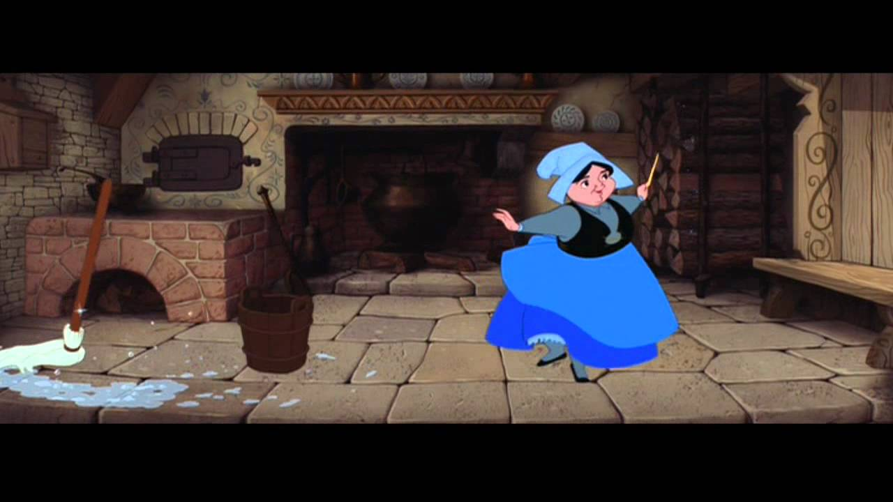 HD Sleeping Beauty Soundtrack Magical House Cleaning
