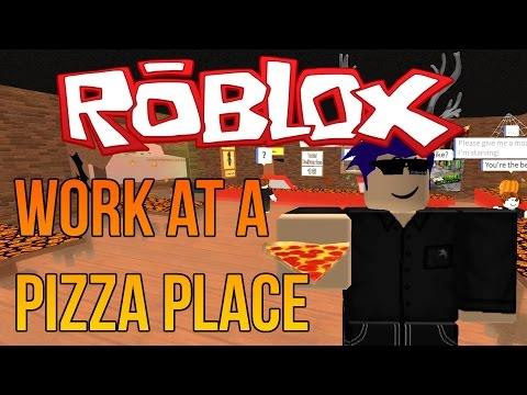 Roblox: Work at a Pizza Place - Let's Play - PIZZA SHOP OF HORRORS!