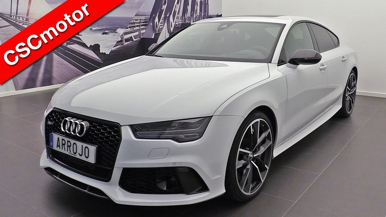 Audi Rs7 Performance >> AUDI RS7 Performance | 2013 - 2018 | Revisión en profundidad - YouTube