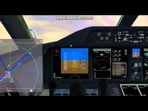 FlightGear 3.2 (HD) / Full Flight EGKK-EFHK (part 2) Approach and Landing