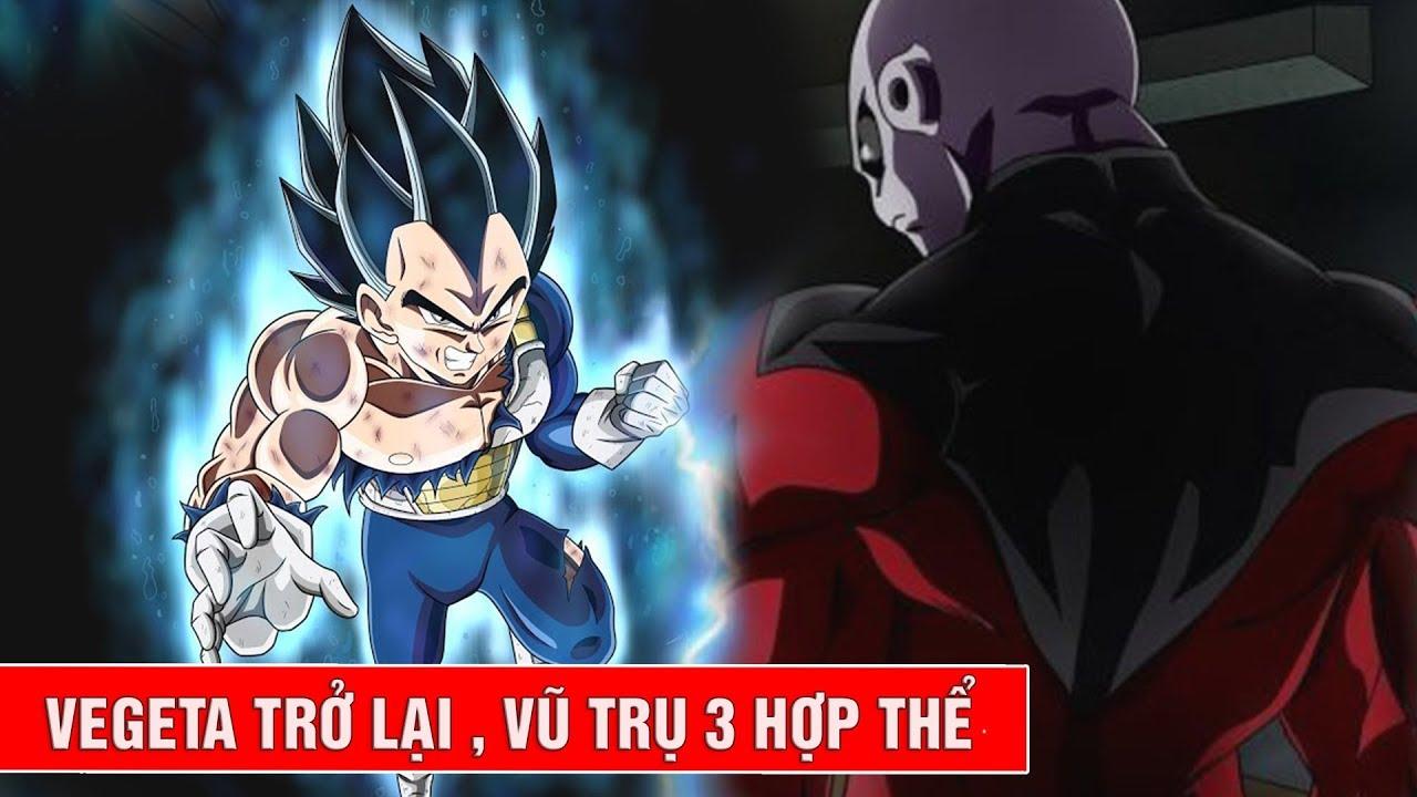 Hé lộ thông tin tập 119, 120, 121, 122 trong Dragon Ball Super : Vegeta trở  lại