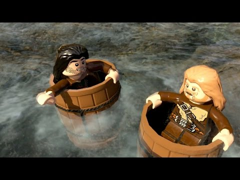 Lego The Hobbit - Barrel Of Fun - Part 14 - stampylonghead  - HM8mHmY5Kvo -