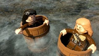 Lego The Hobbit - Barrel Of Fun - Part 14