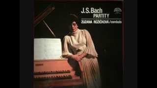 J.S.Bach Partita No.6 in E minor, BWV 830 Růžičková