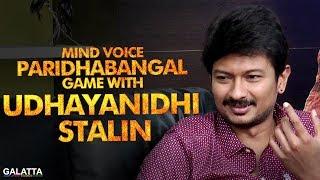 Mind Voice Paridhabangal Game with Udhayanidhi Stalin | Nimir