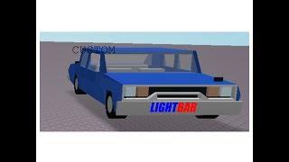 [ROBLOX Studio] Creating Custom A Custom Police Car!