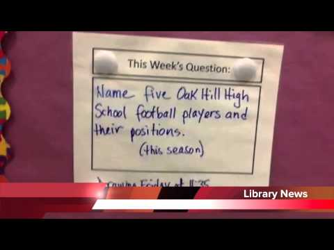 Carrie Ricker School Library Question Of The Week