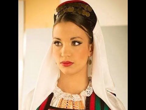 The Most Beautiful Serbian Women in Traditional Clothes