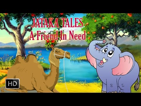 Jataka Tales - A Friend In Need - Animated Stories for Kids