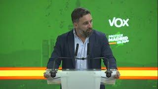 Abascal pide elecciones generales tras los resultados electorales en Madrid