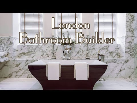 London Bathroom Builder/ Installer , Wet-room video before and after