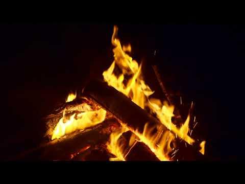 3 Hours Bonfire Hawai Sea Tottori 4k Sound The Nature Japan Campfire Youtube