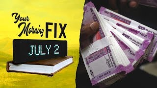 Your Morning Fix: Why did the rupee fall to an all time low against the US dollar?