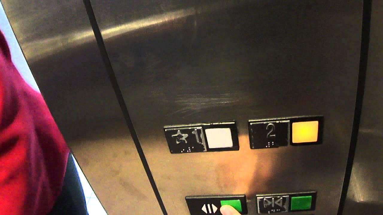 york galleria. busy otis scenic elevator at the york galleria pa