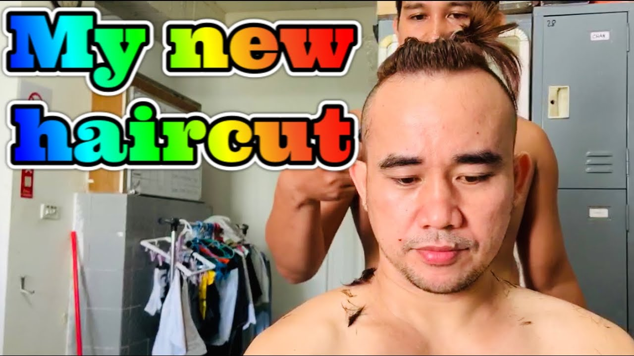 MY NEW HAIRCUT/ TOP KNOT HAIRCUT STYLE