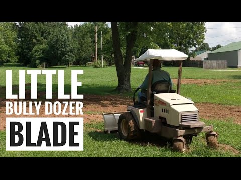 Robert's new toy...dozer blade