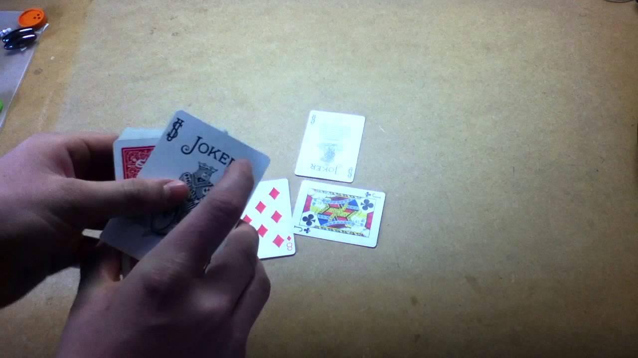 Zaubertrick Mit Karten