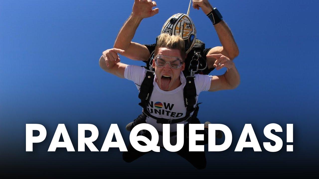 Now United Saltando De Paraquedas Em Dubai! (LEGENDADO PT-BR)