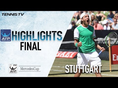 Pouille Edges Lopez In Stuttgart 2017 Final Highlights