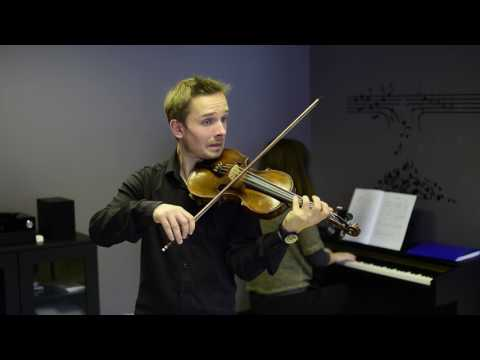 J.S-Gavotte from BWV1012 Young Violinist's Repertoire 3 (Faber Music) Grade 3
