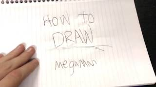HOW TO DRAW MEGAMAN {Simple Tutorial!}