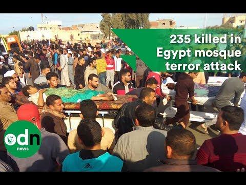 235 killed in Egypt mosque terror attack