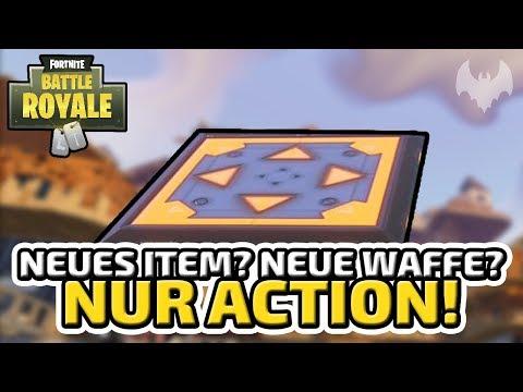 Neues Item? Neue Waffe? Nur Action! - ♠ Fortnite Battle Royale ♠ - Deutsch German - Dhalucard