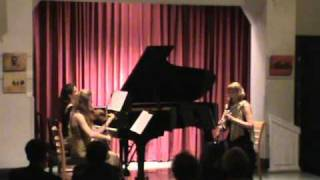 Trio sTREga - Milhaud - Suite mvt. III