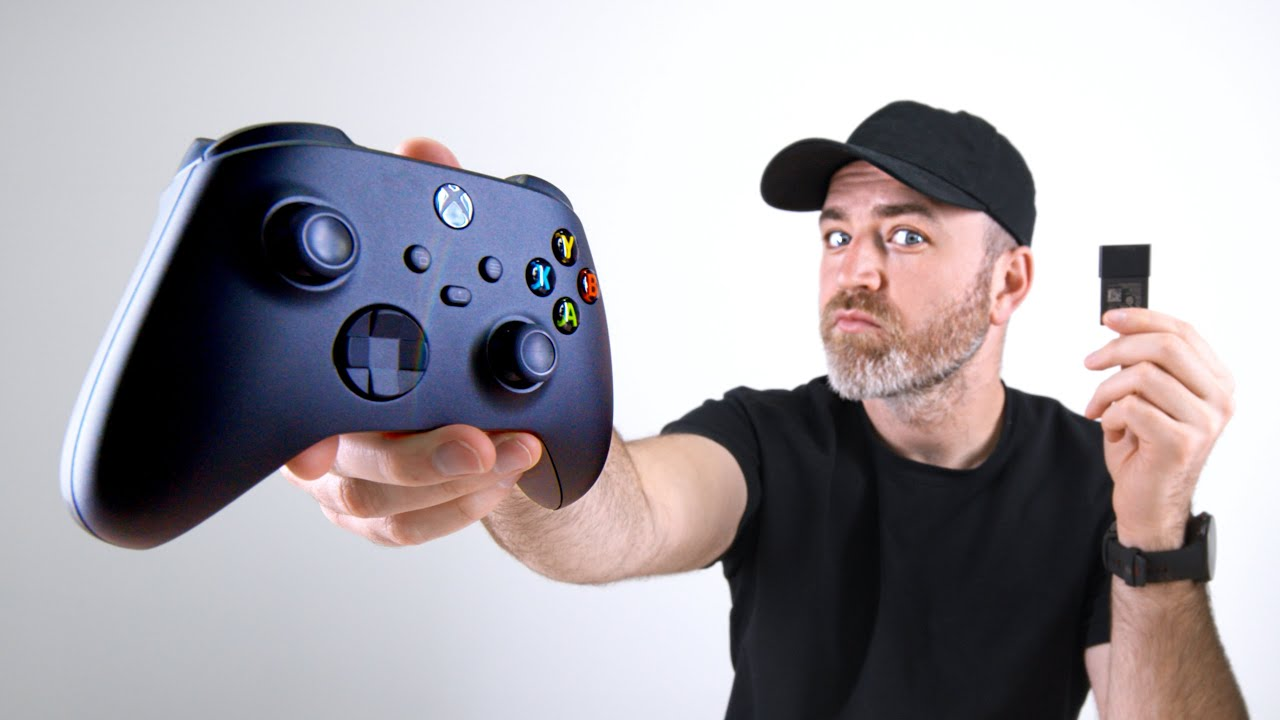 Xbox Series X Controller + 1TB Expansion Card Hands-On