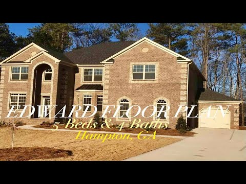 (Country Club LIVING)  New Construction Homes in Hampton, GA  Part1