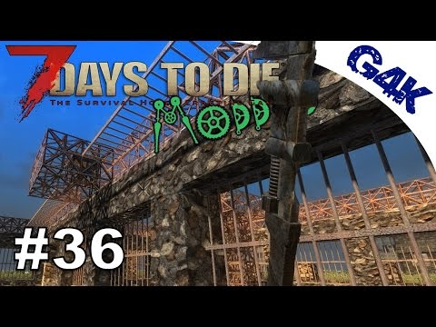 Repairs and new POI | 7 Days To Die Valmod Let's Play | Part 36