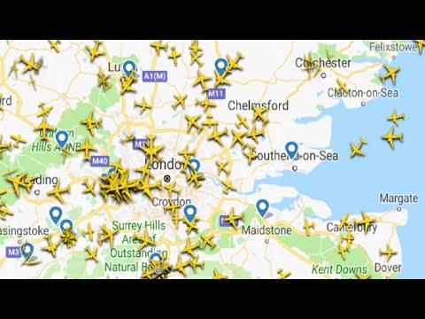 Flight Radar Live Air Traffic