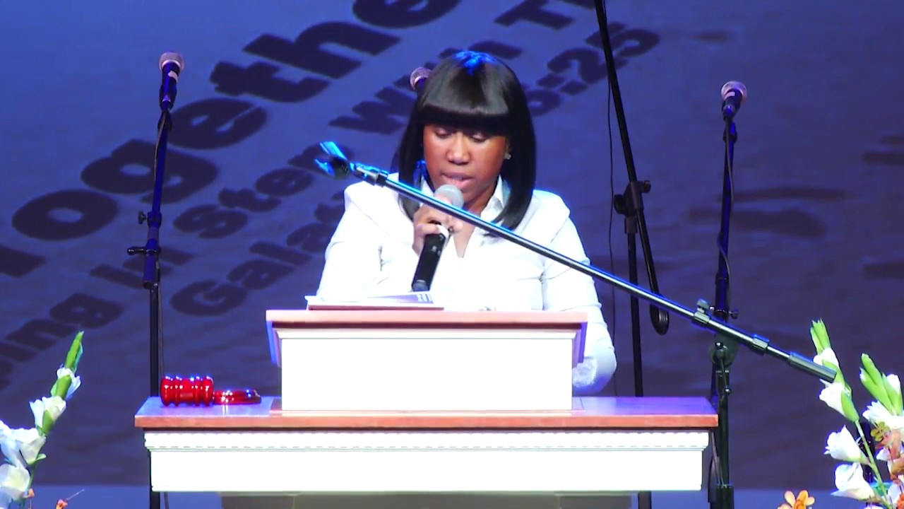 Thursday Evening, July 20 - Rise Up and Walk, Acts 3:6 - Minister Michelle Allen Dale