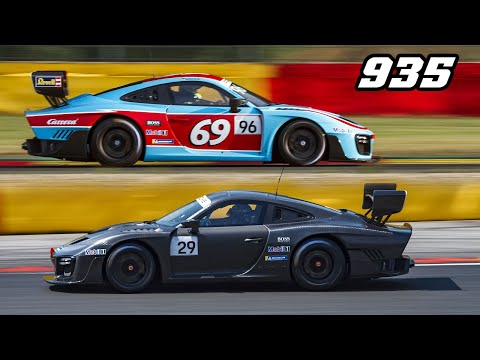 2019 PORSCHE 935 - First Race Ever At Spa-Francorchamps
