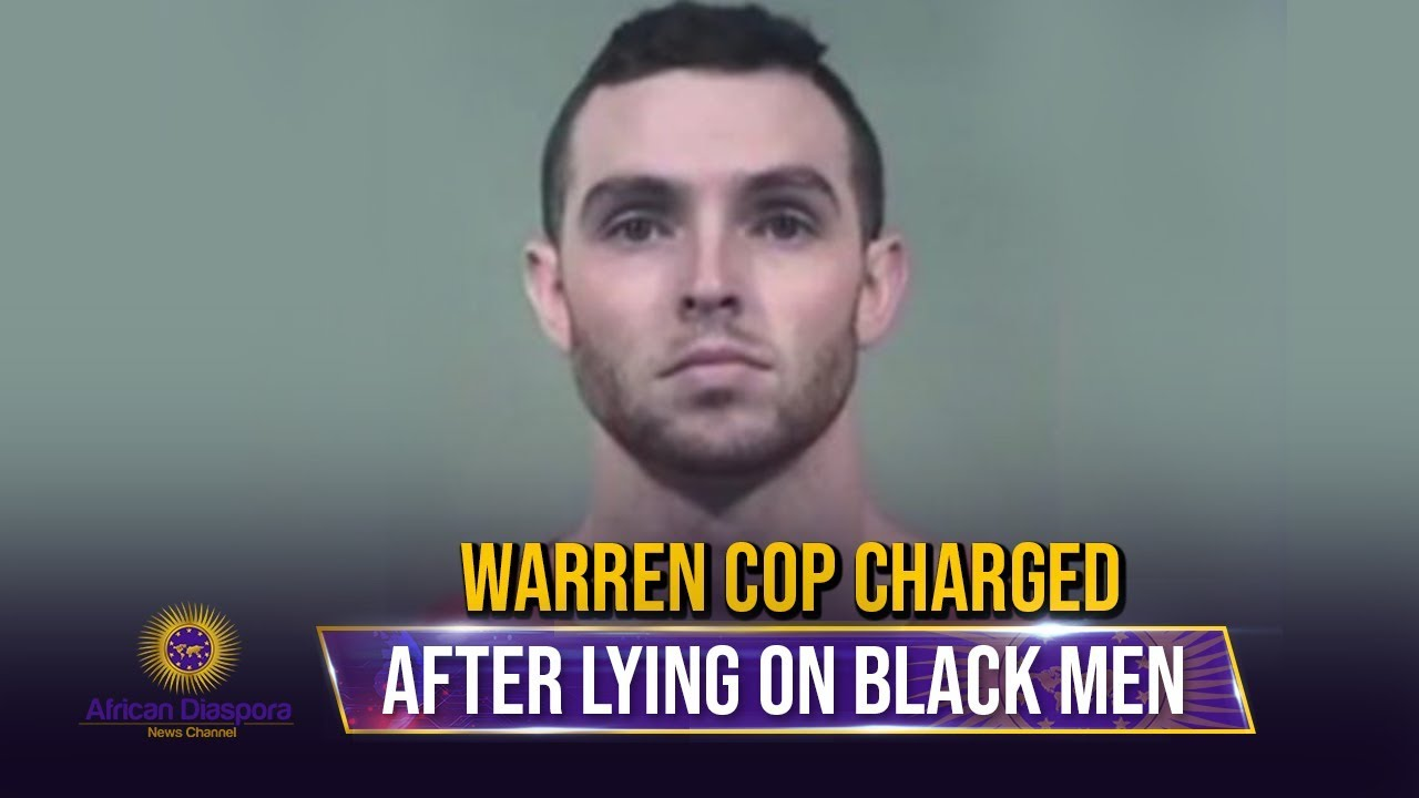 Warren Cop Fired & Charged After Lying That Imaginary Black Man Robbed Him